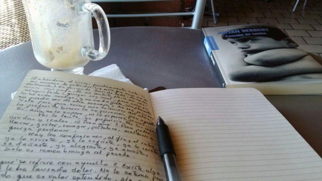 En el oficio literario