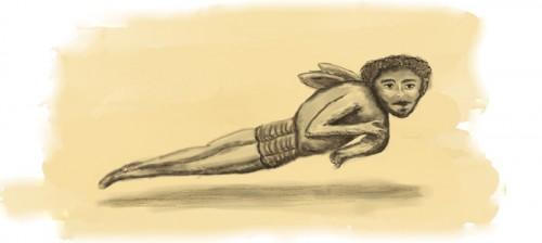 Angel ilustracion Rhafhaell