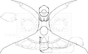 Dualidades numero 05. Ilustracion por Rhafhaell