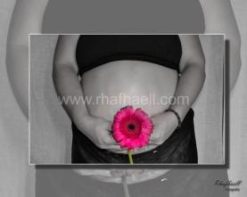 Claudia esperando bebé Fotografía por Rhafhaell