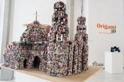 Catedral Pieza de Origami 3d Cleofas de la Peña