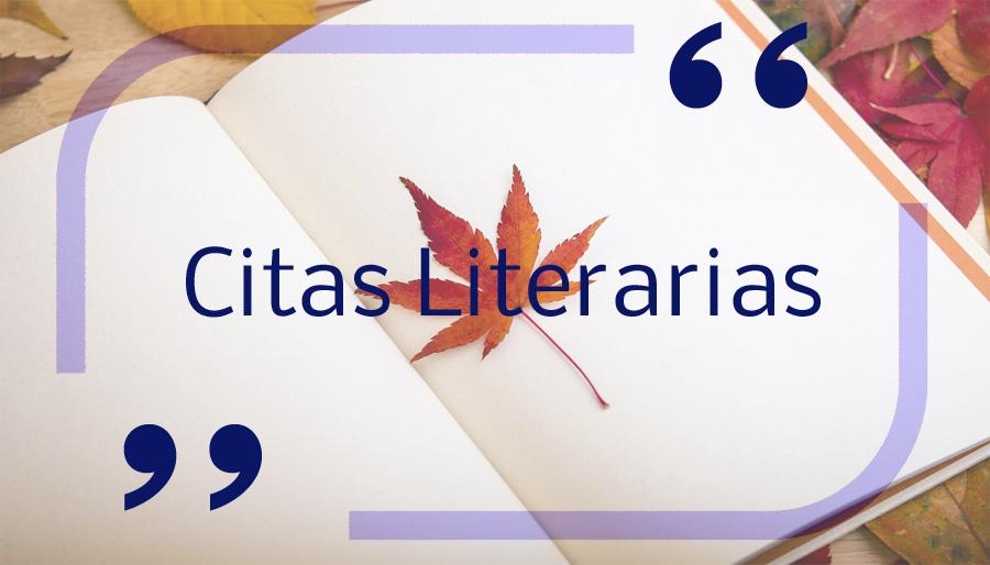 Citas Literarias